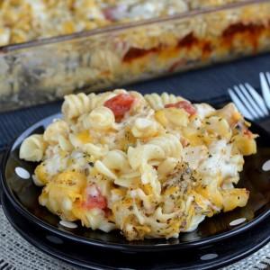 Chicken Supreme Pasta Bake