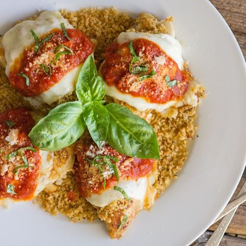 Easy Chicken Parmesan With Toasted Panko