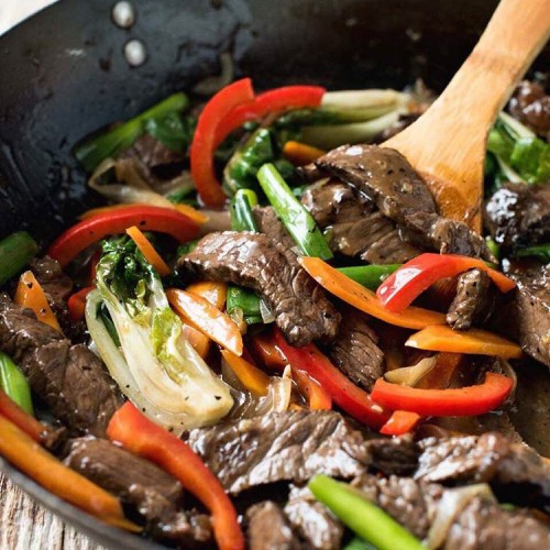Easy Real Chinese Beef Stir Fry