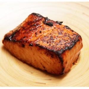 Five Minute Miso-Glazed Toaster Oven Salmon