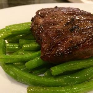 Skirt Steak and Green Beans