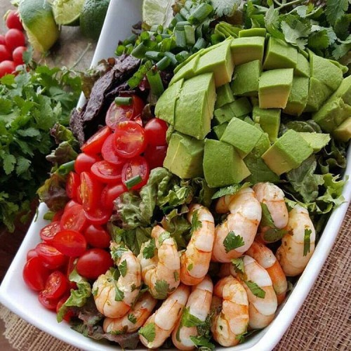 Honey-Lime Shrimp Bowls