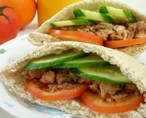 Tuna Pita Bread Recipe
