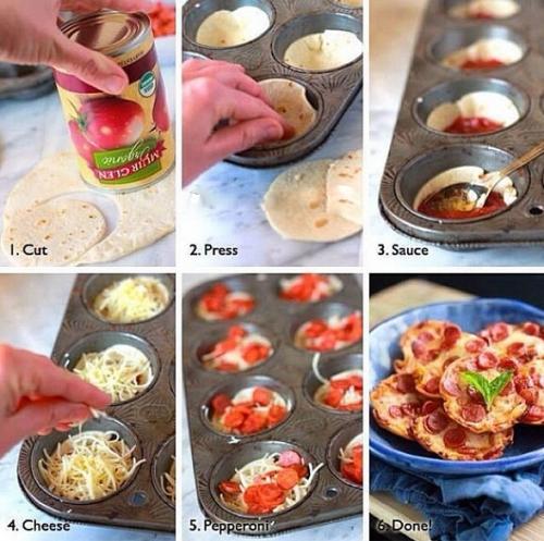 Mini Pizza Idea