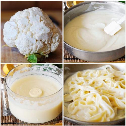 Cauliflower Alfredo Sauce Recipe