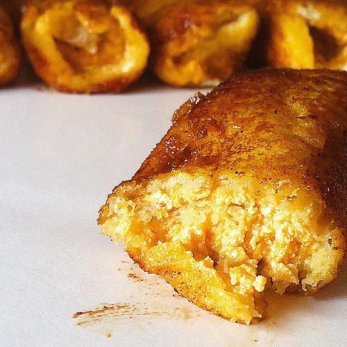Pumpkin French Toast Roll-ups