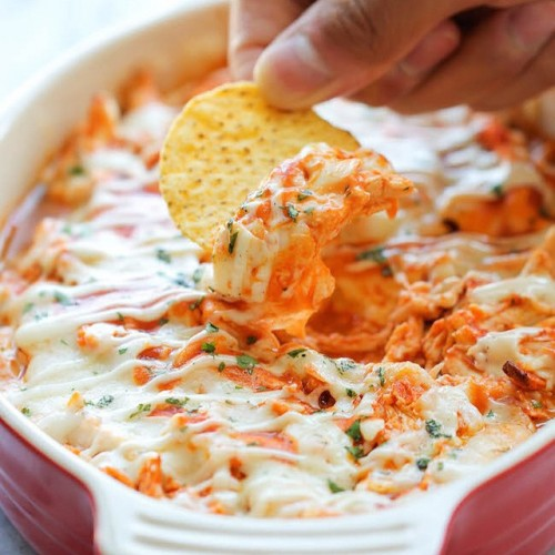 Buffalo Chicken Dip by the amazing