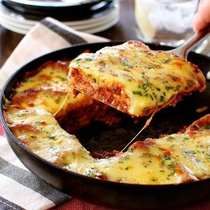 One Pot Lasagna with Layers