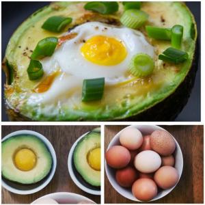 Baked Avo-Egg