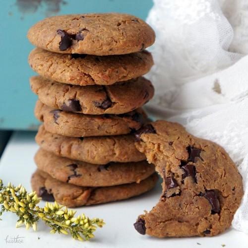 Healthier Vegan Chocolate Chip Cookies