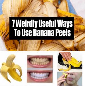 7 Weirdly Useful Ways To Use Banana Peels
