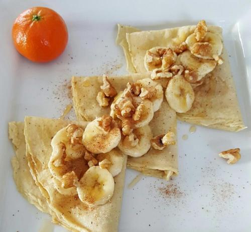 Cinnamon Banana Crepes